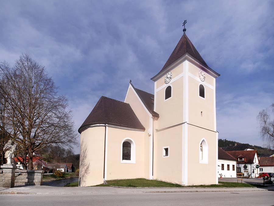Pfarrkirche Krumau am Kamp
